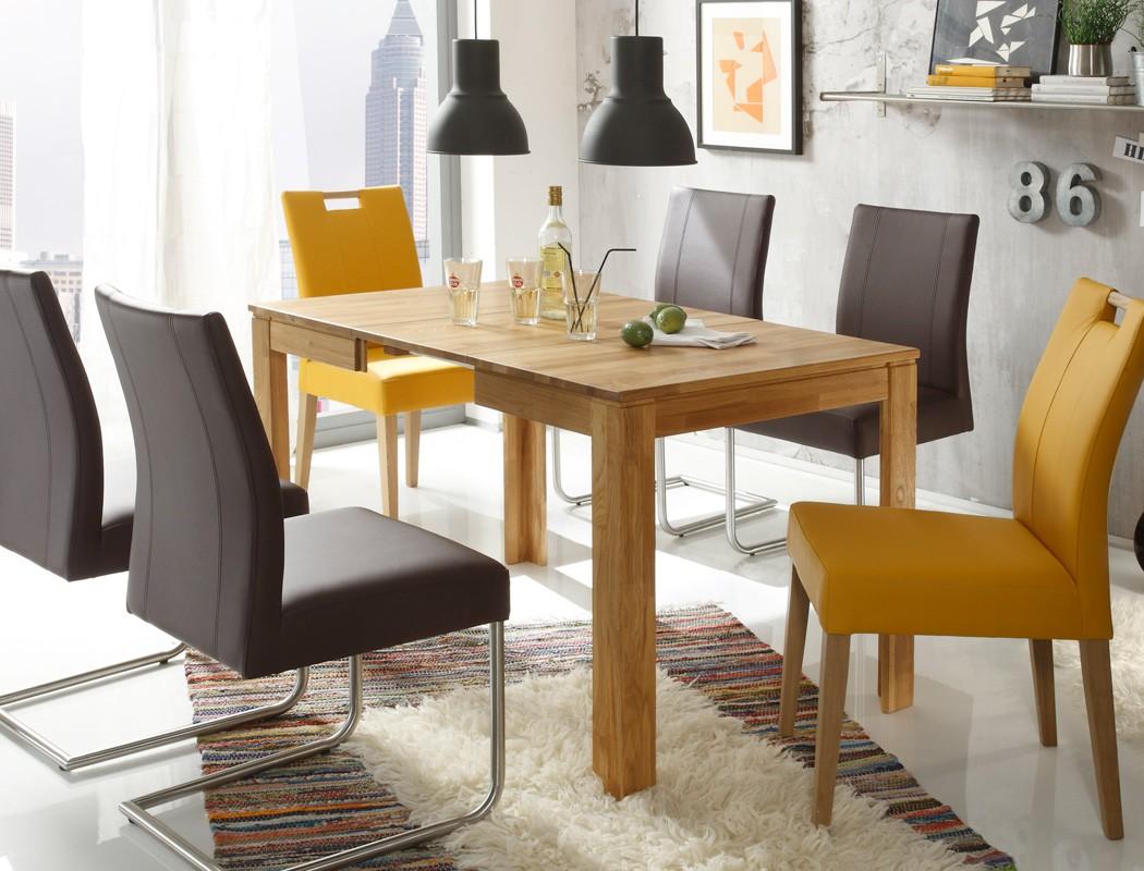 massivholztisch petri tisch ausziehbar oder fest esstisch. Black Bedroom Furniture Sets. Home Design Ideas