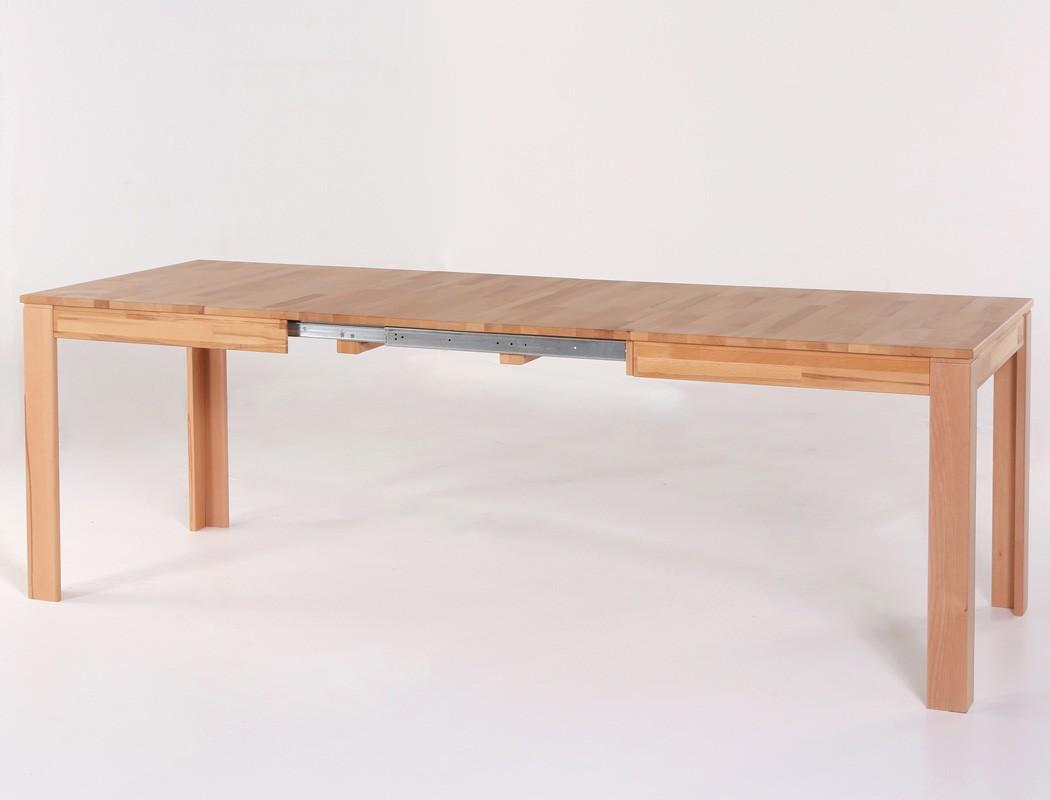 massivholztisch petri tisch ausziehbar oder fest esstisch k chentisch tisch ebay. Black Bedroom Furniture Sets. Home Design Ideas