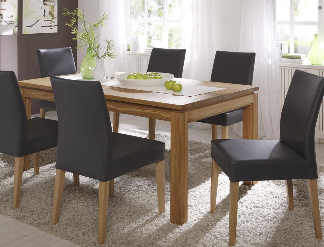 esstisch verona xl 160 260 x90cm ausziehbar massivholztisch butterfly tisch ebay. Black Bedroom Furniture Sets. Home Design Ideas