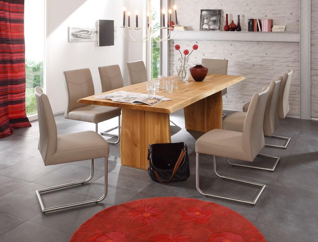 Esstisch wangentisch montana varianten baumtisch holztisch gestell d wohnbereiche esszimmer - Baumtisch esszimmer ...