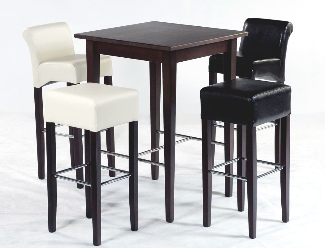 hochwertiger bartisch massiv h he 105cm stehtisch hochtisch bistrotisch leno ebay. Black Bedroom Furniture Sets. Home Design Ideas