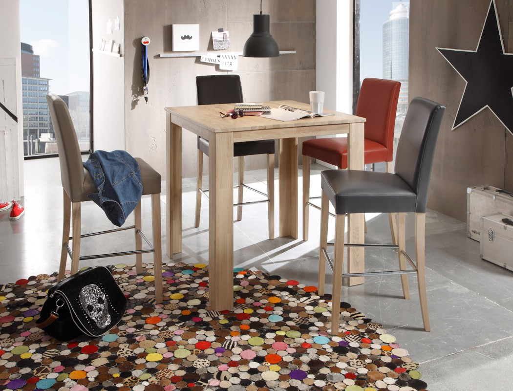 tresentisch arvada tischh he 96cm varianten bistrotisch. Black Bedroom Furniture Sets. Home Design Ideas