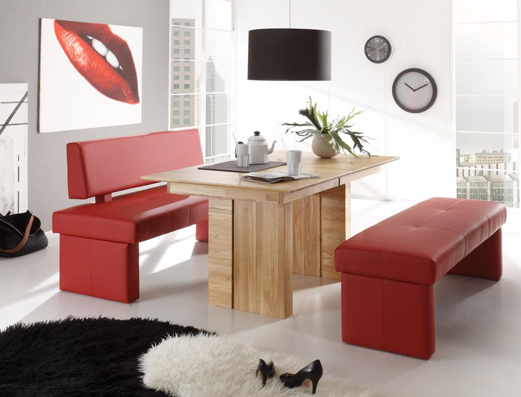 sitzgruppe eiche natur tisch jonas 130 180 x90cm. Black Bedroom Furniture Sets. Home Design Ideas