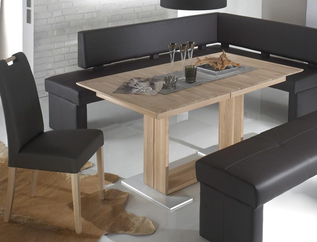 eckbankgruppe dorian braun tisch bennet eiche sonoma stuhl samia wohnbereiche esszimmer. Black Bedroom Furniture Sets. Home Design Ideas
