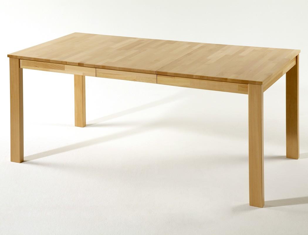 tischgruppe kernbuche tisch emilian 125 165 x80 8 st hle. Black Bedroom Furniture Sets. Home Design Ideas