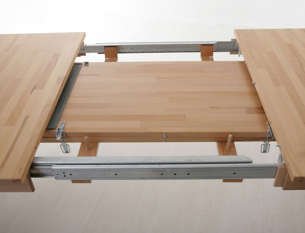 Essgruppe kernbuche tisch georg 2xl 140 220 x80 6 st hle for Wohnzimmertisch 140 x 80