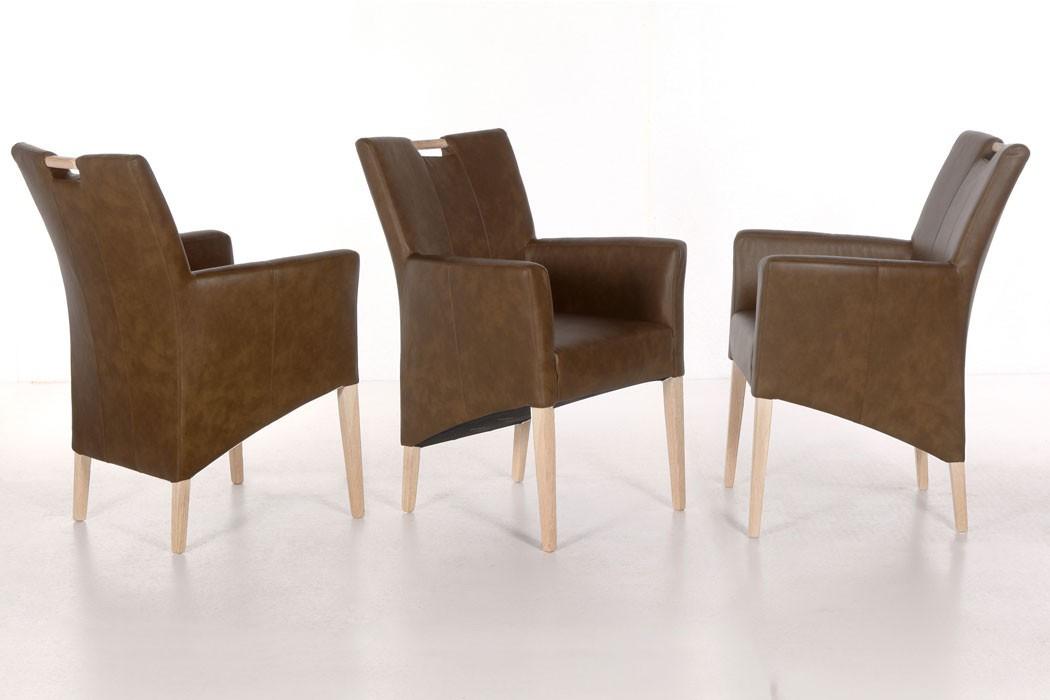 Essgruppe Eiche Sonoma Tisch Allround + 8 Stühle Vigga + 2 Sessel Barak U2013  Bild 7