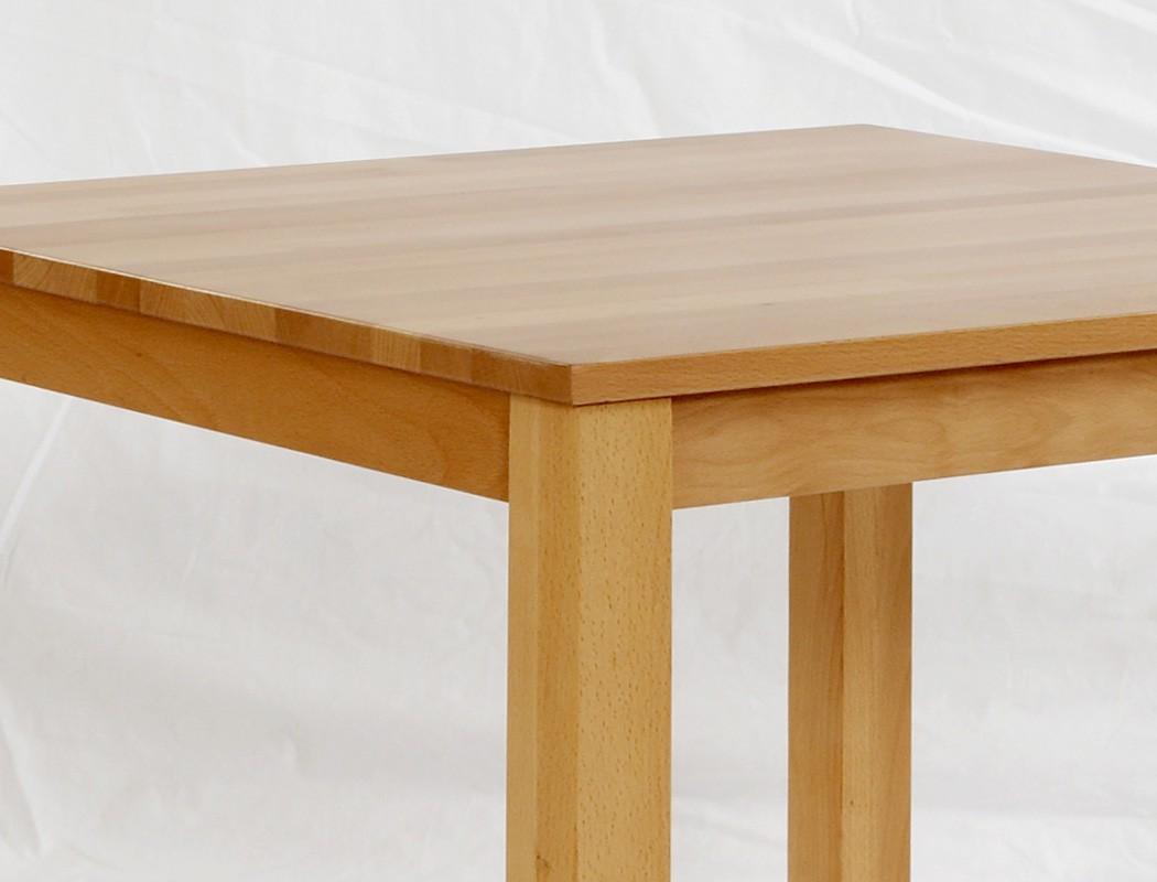Tischgruppe buche kolonial esstisch pavel 75x75 4 st hle for Esstisch platzsparend