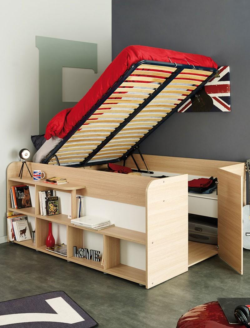 Jugendbett 120x200  Jugendbett - Möbel - einebinsenweisheit
