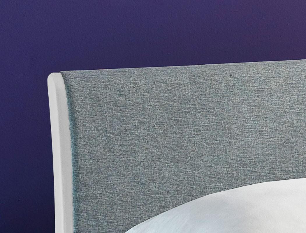 polsterbett relana bett 180x200 wei hellgrau lattenrost. Black Bedroom Furniture Sets. Home Design Ideas