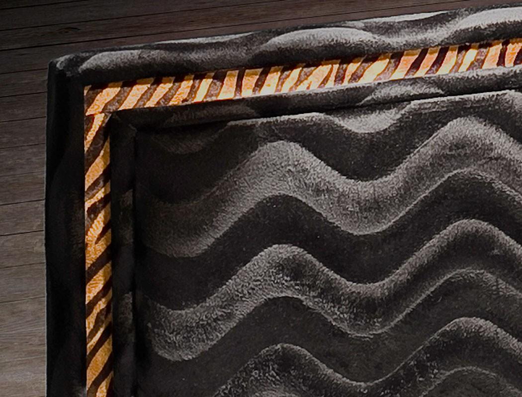 polsterbett cassio bett 180x200 stoff schwarz lattenrost. Black Bedroom Furniture Sets. Home Design Ideas